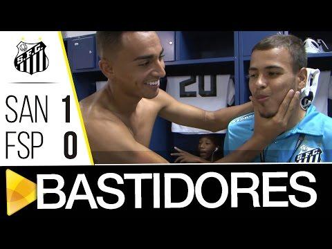 Santos 1 x 0 Flamengo-SP | BASTIDORES | Copa SP (11/01/17)