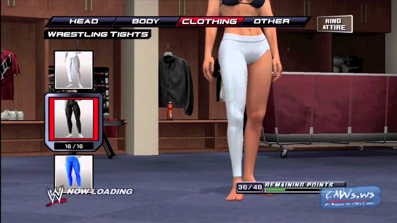 Wwe Smackdown Vs Raw 2011 Create A Diva Clothing Youtube