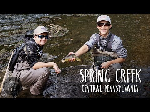 Fly Fishing Film | Spring Creek | Central Pennsylvania