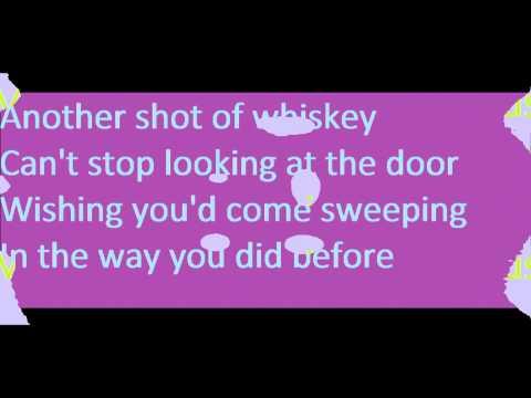 Lady Antebellum Need You Now With Lyrics