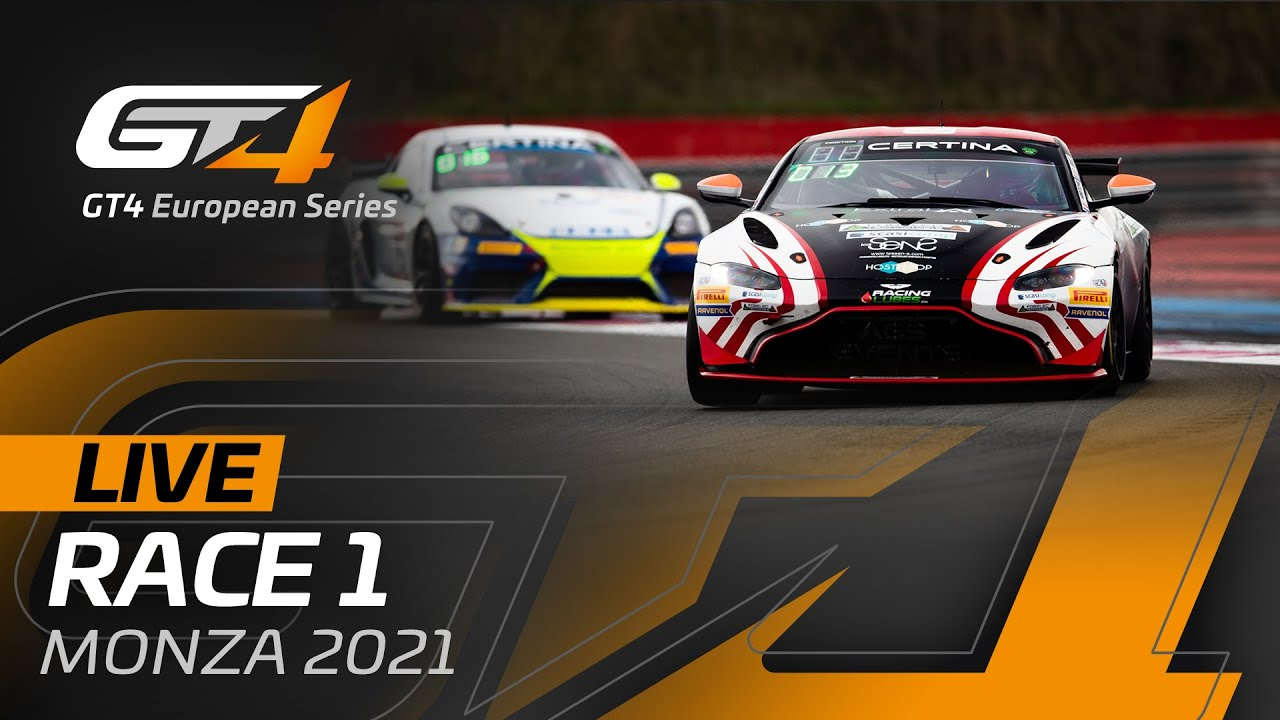 LIVE FROM MONZA - RACE 1 - GT4 EUROPEAN SERIES 2021