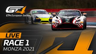 LIVE FROM MONZA - RACE 1 - GT4 EUROPEAN SERIES 2021