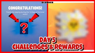 Fortnite 14 Days Of Summer Day 5 Challenges and Rewards