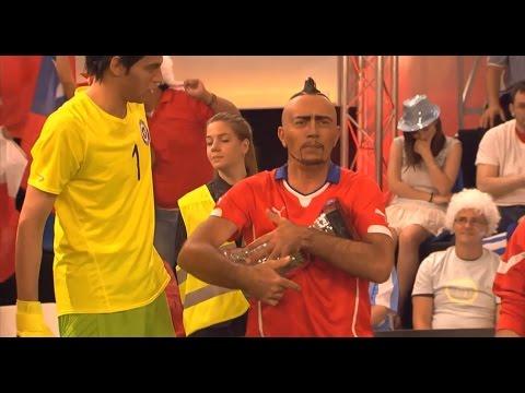 Crackovia América - Selección Chilena No Sabe Levantar Una Copa