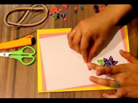 Chart Paper Crafts Easy Handmade Greeting Cards Paper Cards