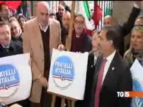 21 dicembre 2012 nasce Fratelli d'Italia. Il ricordo del consigliere Ernesto Sica