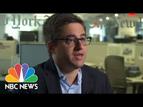 The Reporter Who Broke The Story Of Donald Trump Campaign Meeting   Megyn Kelly   NBC News