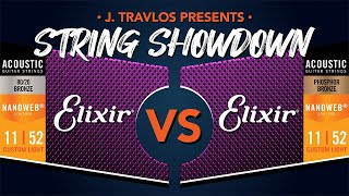 String Showdown: Elixir 80/20s VS Elixir Phosphor Bronze Acoustic Guitar Strings