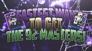 *FASTEST* WAY TO GET THE 92 OVERALL MASTERS! Madden Overdrive Most Feared Promo