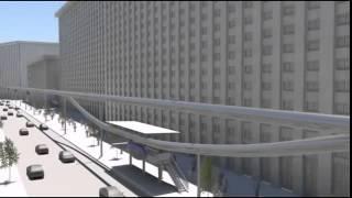 SkyTran Транспорт будущего SkyTran в Тель Авиве