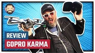 Reviewing the GoPro Karma Drone with the Hero 6