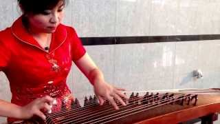 Kecapi. Alat Musik Traditional China. By Lydia
