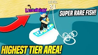 You *HAVE* To Be The Highest Level To Access This Area in FISHING EMPIRE SIMULATOR!! (Roblox)