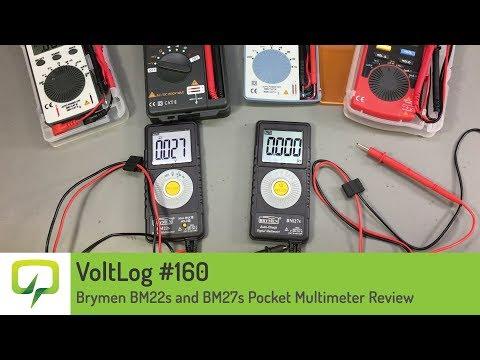 Voltlog #160 - Brymen BM22s and BM27s Pocket Multimeter Review