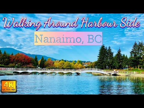 Walking Around Harbour Side, Nanaimo BC || Things to do in Vancouver Island