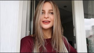 VLOG Покрасилась в серый и обрезала волосы Не ожидала такого результата Шоппинг 20 22 10