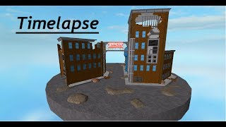 ROBLOX Zeitraffer / Zerstörtes Gebäude / Fallout 4