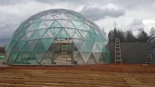 Geo dome walk through 2017 04