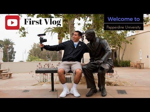 Vlog 1:Touring Pepperdine University