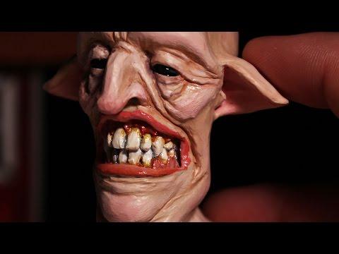 Goblin. Sculpting Process