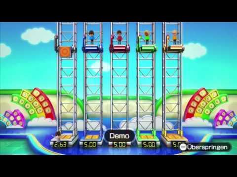 Wii Party U Minispiele - Plattform-Poker