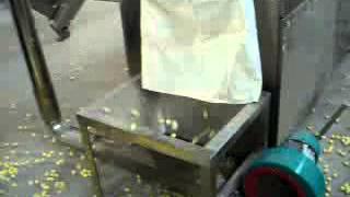 twin screw extruder corn snack food process line Jinan Lerun Company