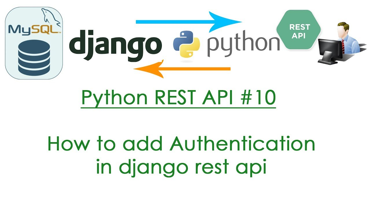 Python REST API #10 How to add authentication in django rest api