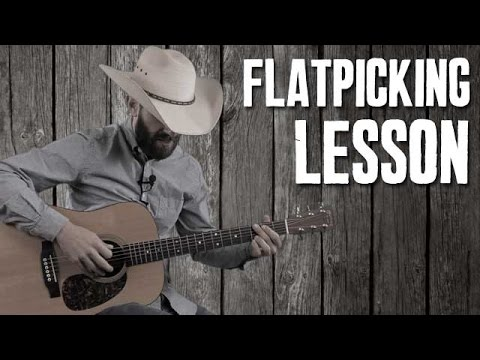 Common Bluegrass Flatpicking Licks over Cripple Creek Chord ...