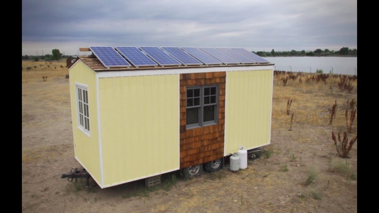 Tiny Home Designs: Already Parked Off-Grid Tiny House For Sale