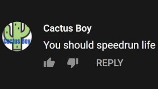 I speedrun (the game of) life