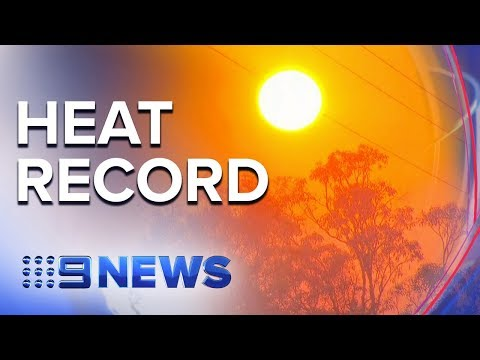 Queensland's South-east Swelters Through Hottest March Day On Record | Nine News Australia