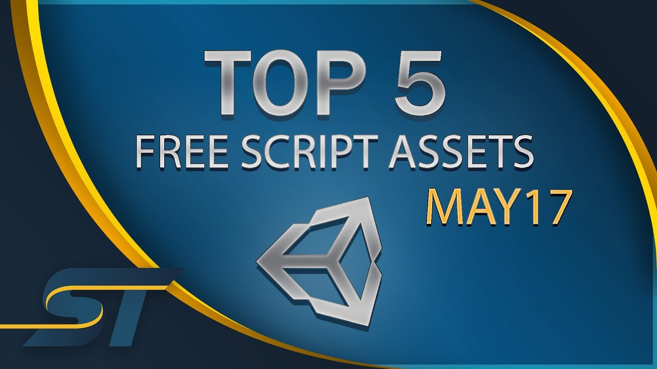 Top 5 Free Unity Assets - Scripting - May 2017