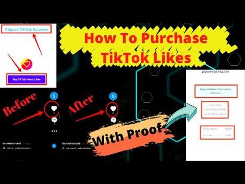 How To Purchase Real Tik Tok Hearts | Buy Cheap TikTok Likes