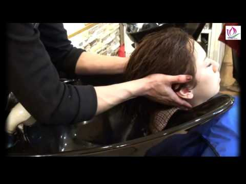 Shampooing instructions and relaxation   Beauty salon - Beauty care