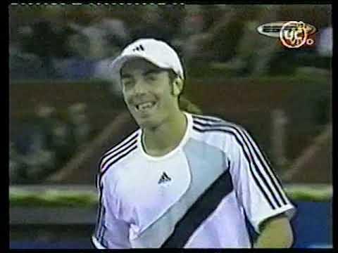 Nicolás Massu Vence A Roddick En Madrid   Canal 13   Jueves 16 De Octubre De 2003