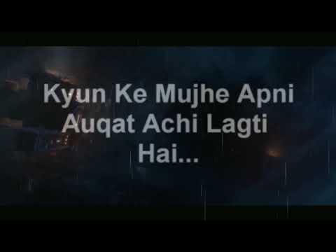 Best Attitude || Whatsappz Status || Apni Aukat Acchi Lagti Hai