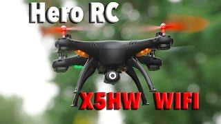 Hero RC Syma X5HW Altitude Hold Wifi Camera Drone