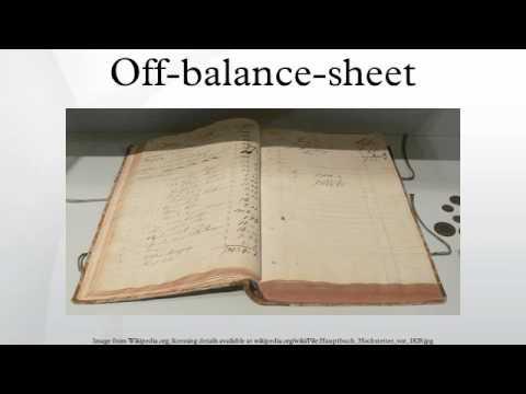 Off-balance-sheet