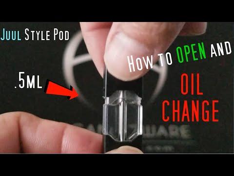 Juul Pod fix Open and Oil Change   Vape Review   Elegant Aware