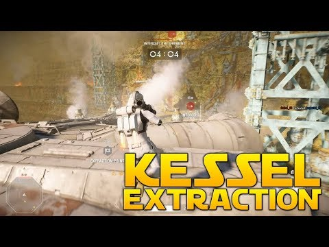 KESSEL EXTRACTION GAMEPLAY - Star Wars Battlefront 2 (Raw Empire Gameplay) thumbnail