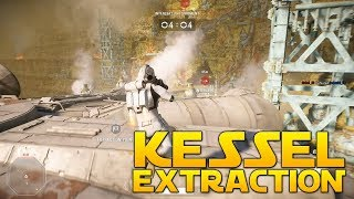 KESSEL EXTRACTION GAMEPLAY - Star Wars Battlefront 2 (Raw Empire Gameplay)