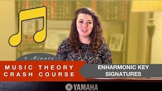 Enharmonic Key Signatures - Music Theory Crash Course
