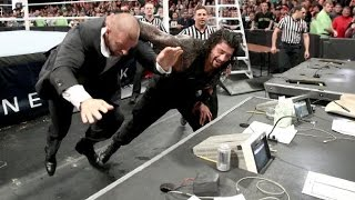 WWE Smackdown 12 May 2016 Roman Reigns vs Triple H and Google Sniper 2016 review