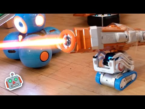 Laser Tag Battle: Can KIDS defeat ROBOTS?