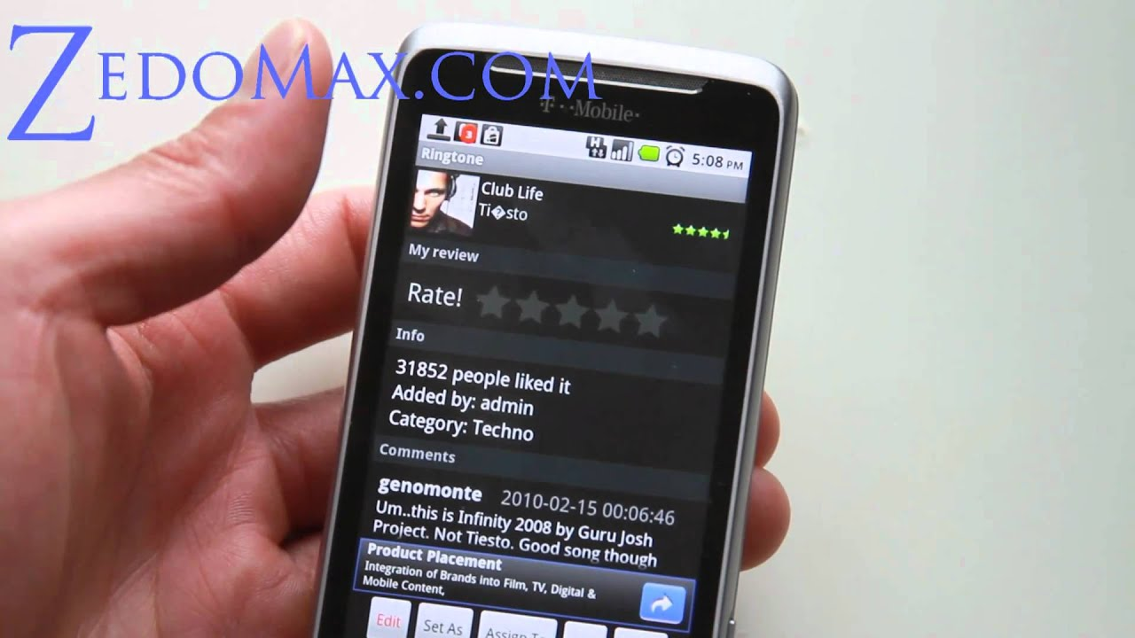 Electronic Free Ringtones Download For Android Phones how to download free ringtones on your android smartphone youtube smartphone