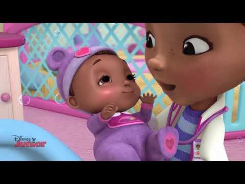 Doc McStuffins | Baby Bath Time | Disney Junior Arabia