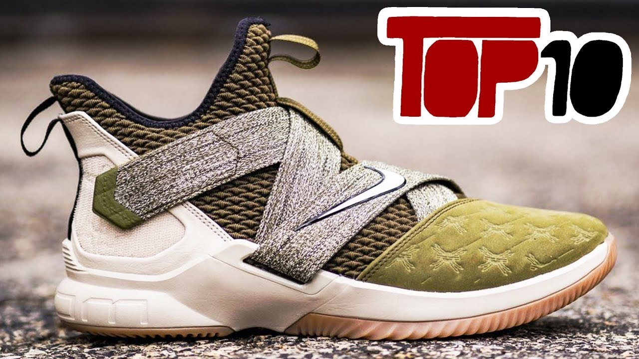 best sneakers 37d28 520e5 Top 10 Nike Zoom Lebron Soldier 12 Shoes Of 2018