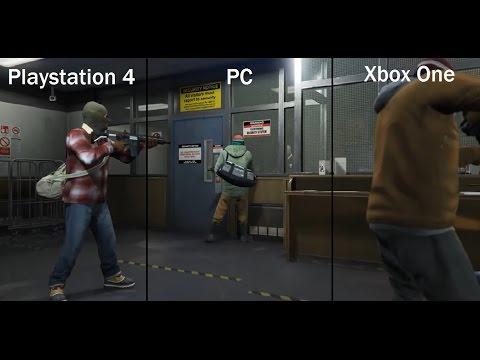 gta 5 xbox one gameplay 1080p tv