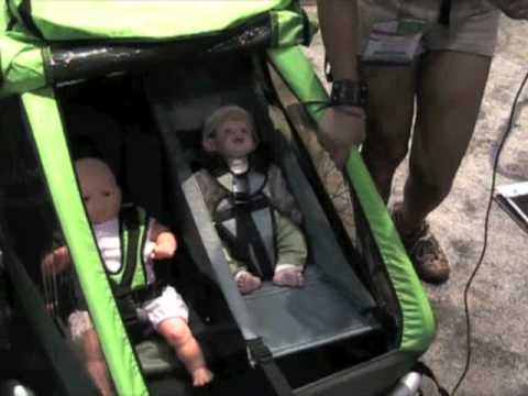 Croozer Kid for 2 Bike Child Trailer YouTube