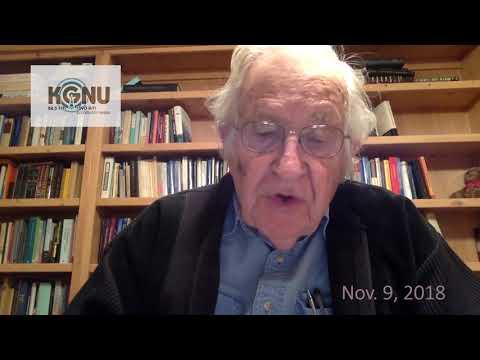 Noam Chomsky Skype Talk - November 9th, 2018 - KGNU